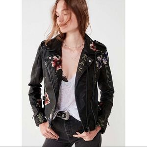 BLANKNYC Floral Embroidere Jacket